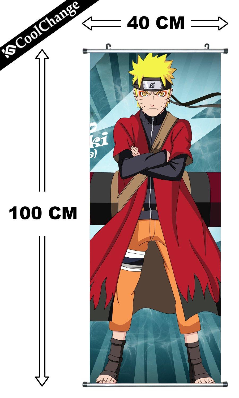 CoolChange Kakemono/Poster de la Serie Naruto, Tema: Obito Uchiha/Tobi: Amazon.es: Juguetes y juegos