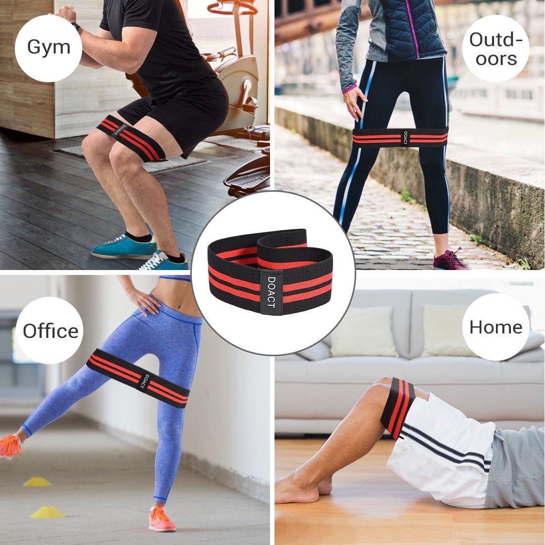 LDJ Yoga Banda el/ástica para entrenamiento de fitness para mujeres y hombres