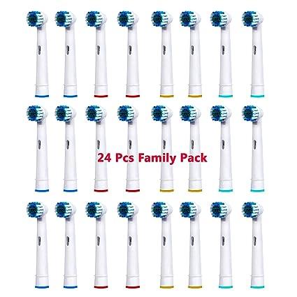 24 x de recambio para sistema de cepillo de dientes especial para de las cabezas de