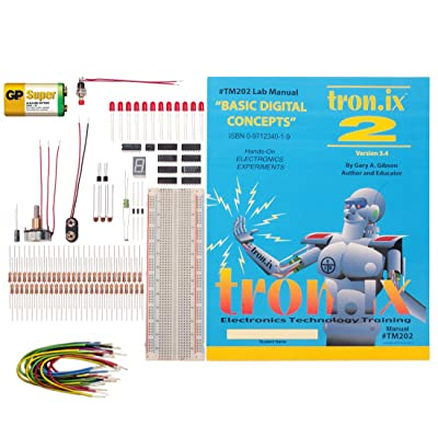 Electronix Express TRONIX 2 LAB Basic Digital Concepts and Op Amps Lab: Toys & Games