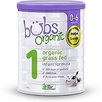 Bubs Organic Grass Fed Infant Formula, 800 g