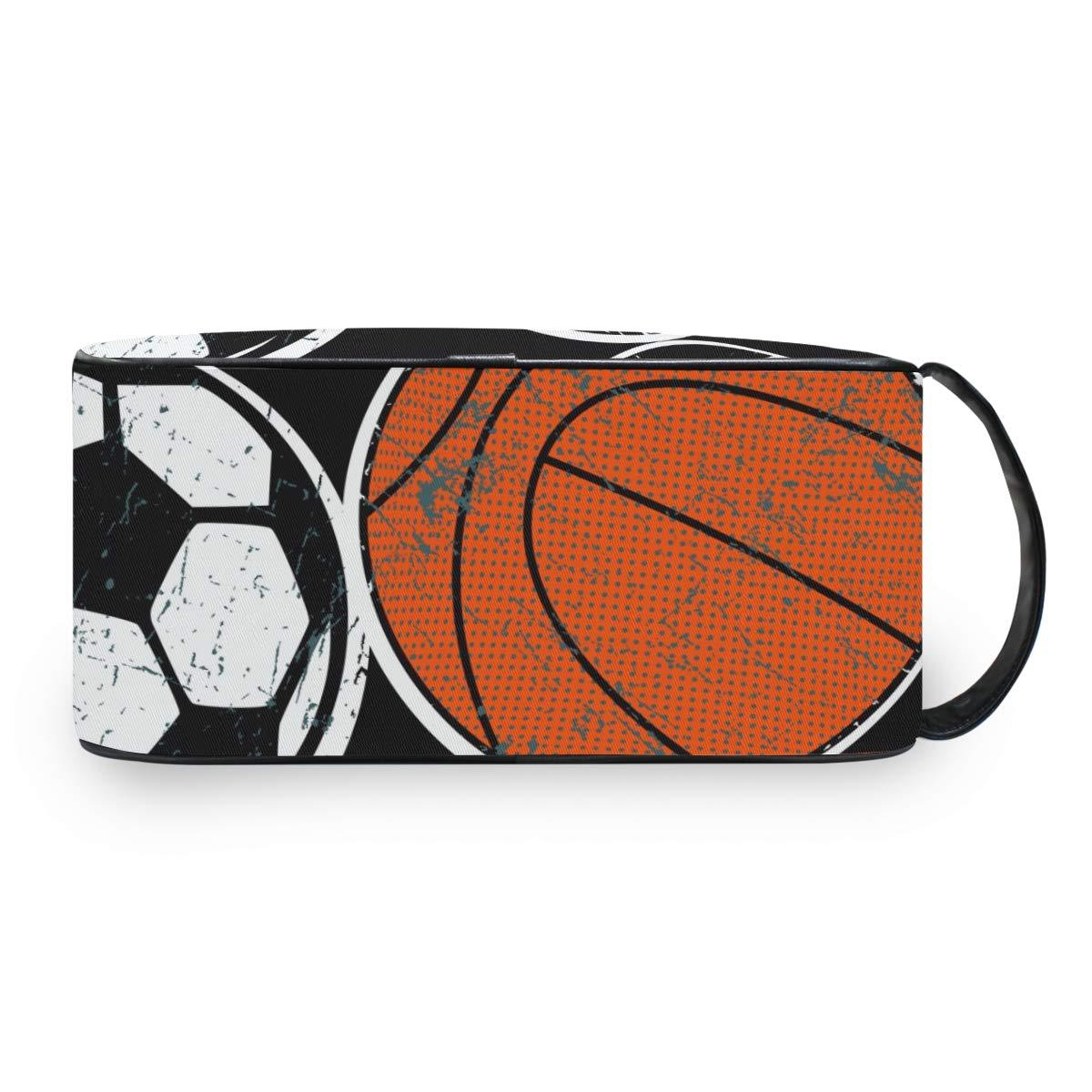 Neceser de balón de Baloncesto y fútbol, Bolsa de Viaje para ...