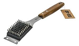 Barbecue Grill Brush and Scraper