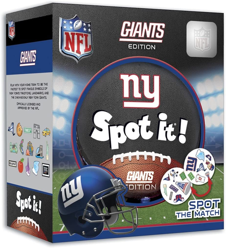 MasterPieces NFL Spot It! New York Giants Edition