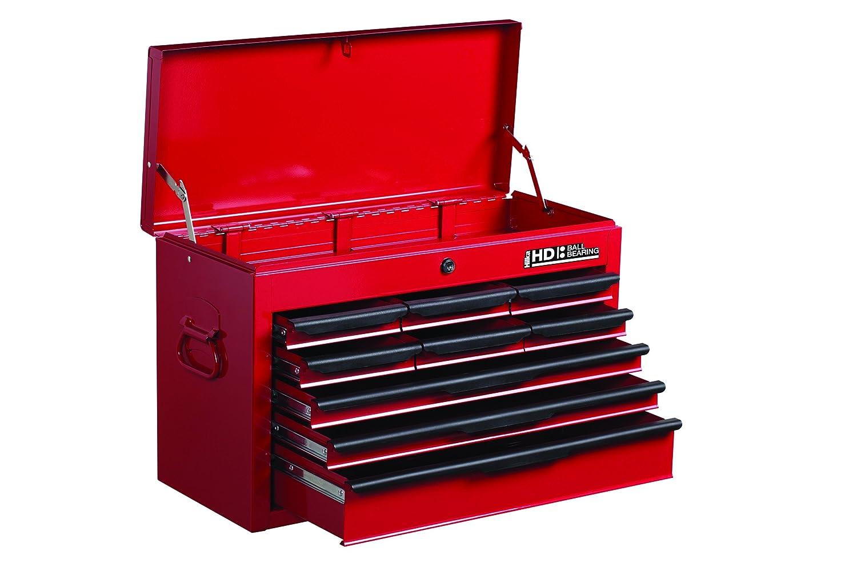 Hilka G301C9BBS Werkzeug-Kasten, robust, 9 Schubladen