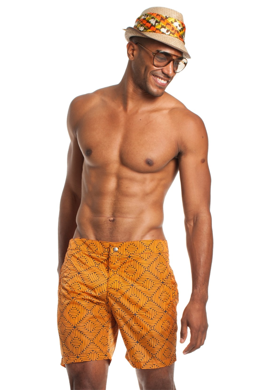 Mr. Turk Safari Short, Orange, 36
