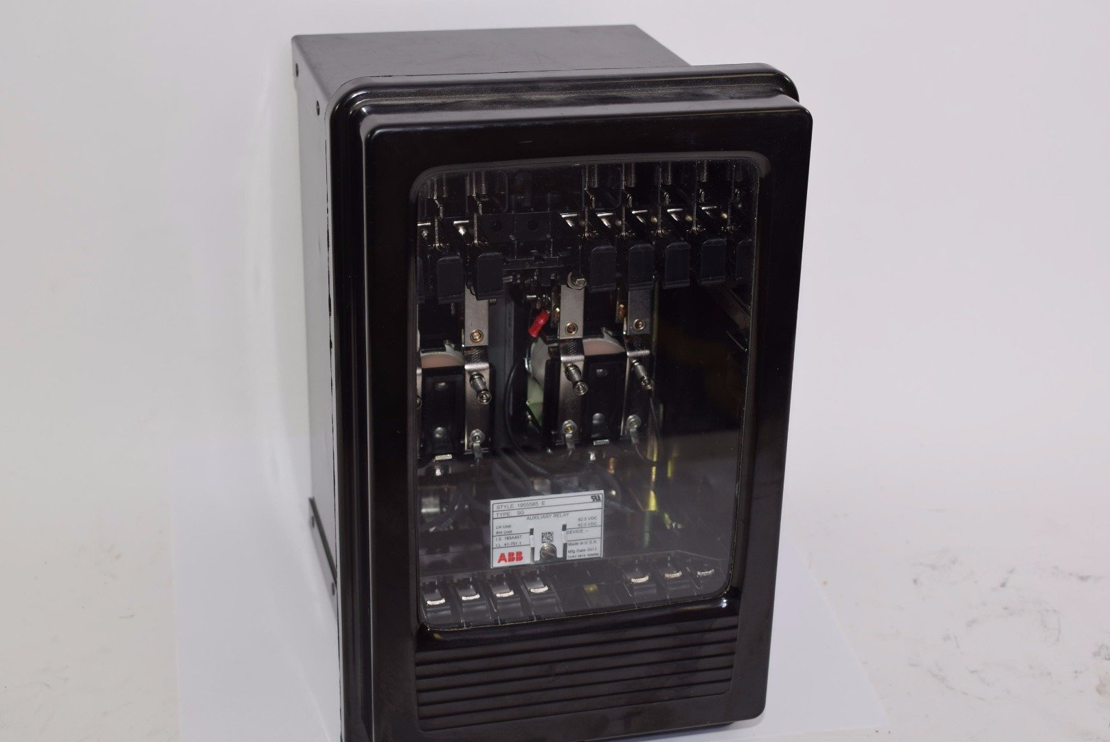 ABB SG Auxiliary Current Relay, 1955565-E 62.5 VDC Case