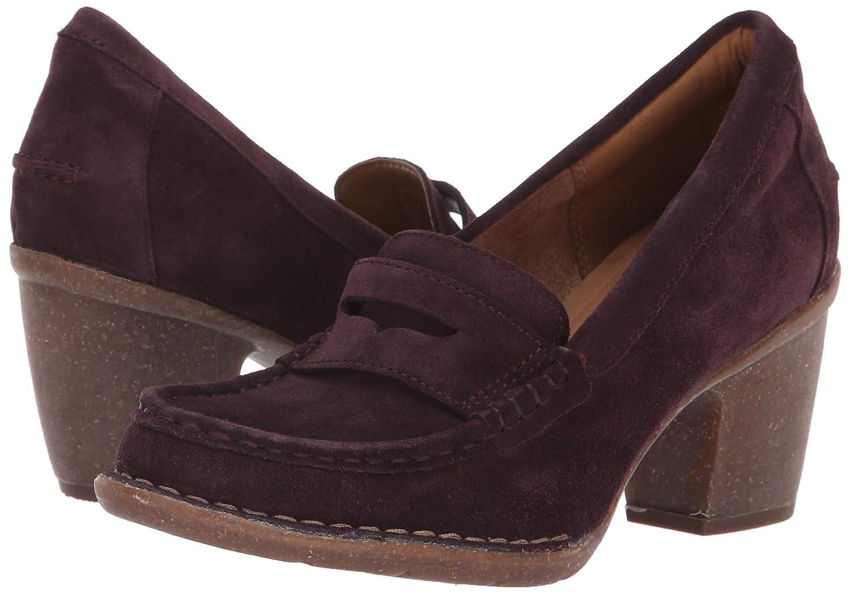 CLARKS Womens Carleta Bella Loafer Heel