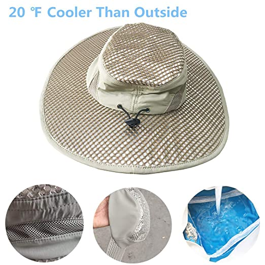1aab36101 2019 New Summer Sun Hat Ice Hat Sunscreen Cooling Air Conditioning ...