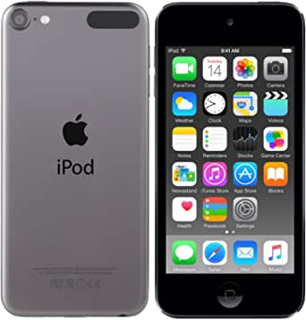 Apple MKH62LL/A iPod Touch 16 GB, Space Gray