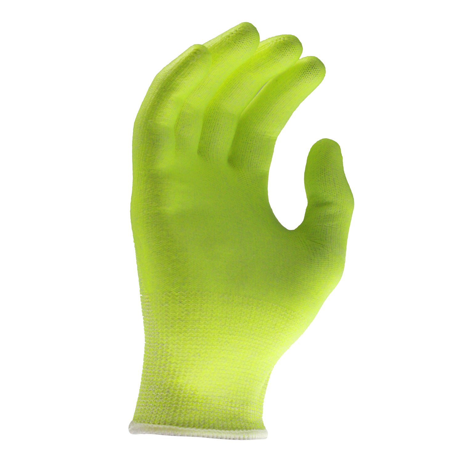 Radians RWG531L Radwear Silver Series Hi-Visibility Cut Level A2 Grip Glove (Dozen) by Radians (Image #3)