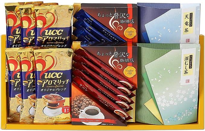 AGF・UCC / コーヒー・ドリップ緑茶( ADUX-30 )