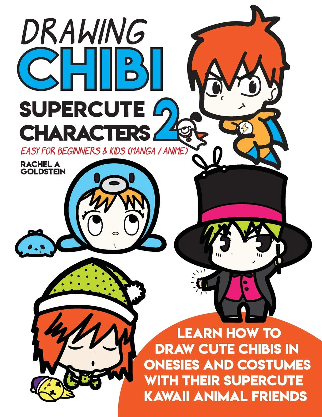Drawing Chibi Supercute Characters 2 Easy For Beginners Kids
