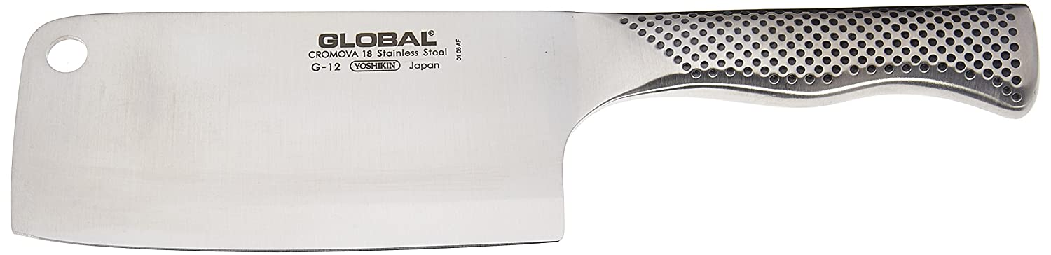 Global Meat Cleaver, 6 1/2 inch, 16cm, Silver Browne Canada Retail 812445 G-12