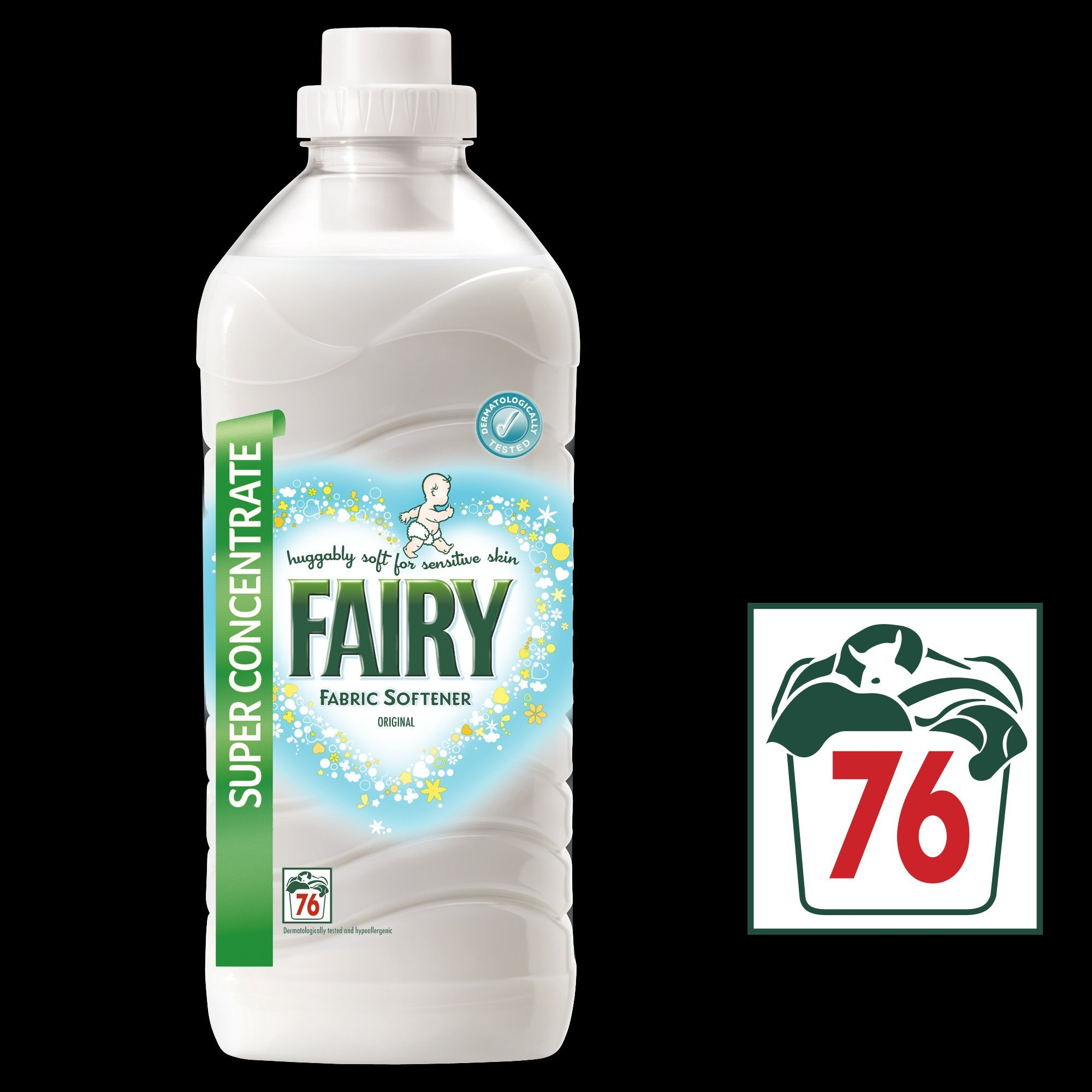 Fairy Fabric Conditioner, 76 wash 1.9L - Pack of 6