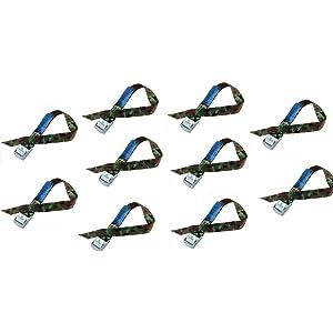 iapyx - Correas de fijación con cierre rápido ideales para portabicicletas, cerradura de apriete