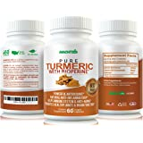 MLabs Turmeric Anti-Inflammatory Degenerative Joint Disease and Arthritis formula, 60 Capsules