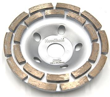 100mm Diamante Muela Disco Hormig/ón Alba/ñiler/ía Granito Piedra Herramienta Amarillo