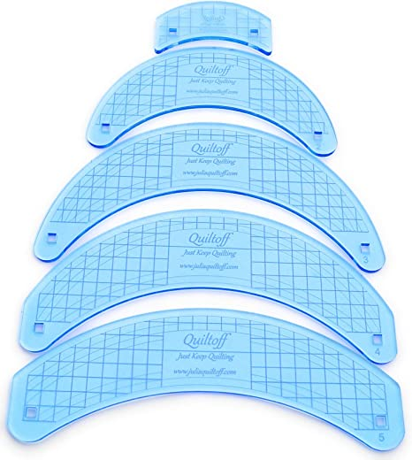 HANDI QUILTER WAVE QUILTING RULER E 6 /& 3 INCH Ruler Is A Full 1//4 Inch Thick