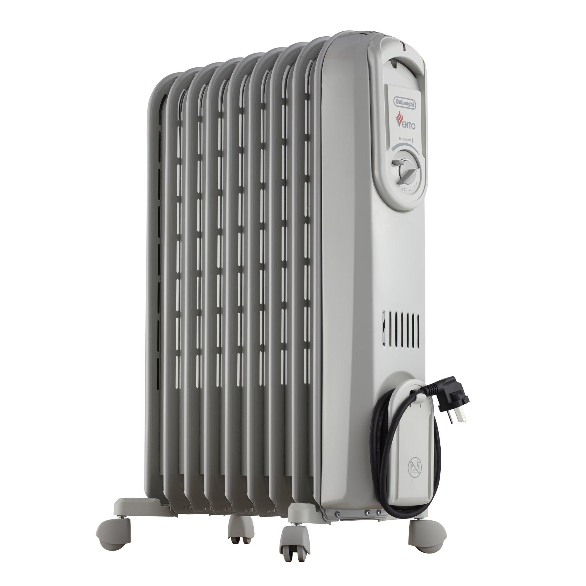 DeLonghi V550920 - Radiador de aceite, 2000 W, color gris product image