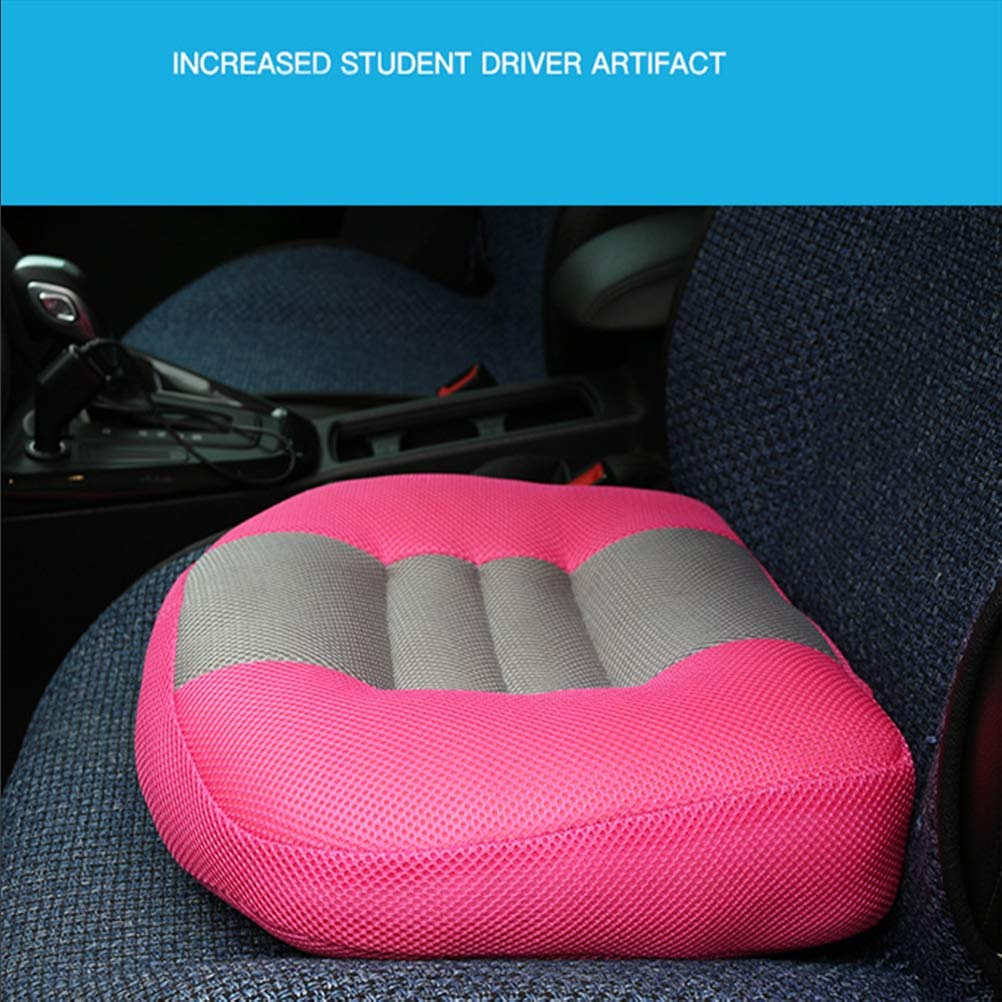 Seat Cushion Car Heightening Height Thicken Cushion Booster Cushion for Driver Comfort Seat Protector,02