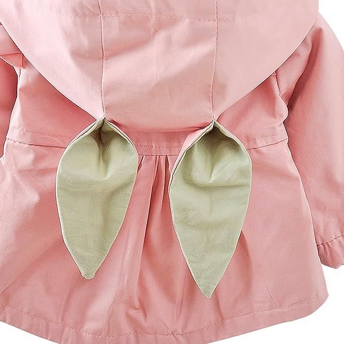 Bebone - Abrigos - para bebé niña Rosa 12 Meses: Amazon.es: Ropa y accesorios