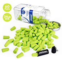 60-Pairs Mpow 055A Super Soft Foam Ear Plugs