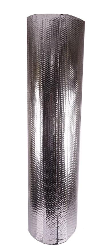 Solar Bay 37.5Silver MP - Rollo de papel de aluminio con aislamiento de burbujas para