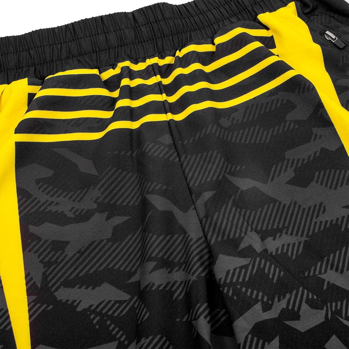 Black//Yellow Venum Okinawa 2.0 Training Shorts