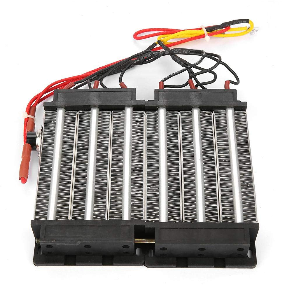 Zerone 220V 1500W Aisl/ó el Elemento de Calefacci/ón de Cer/ámica del PTC del Calentador de Aire del PTC 220V1500W