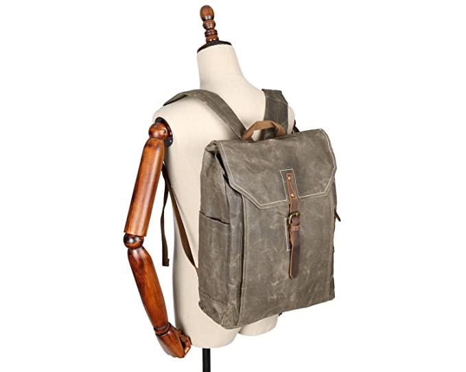 998402084f GHC Handbag   Bags College Wind Backpack Men s Backpack Batik Canvas  Vintage Backpack Waterproof Outdoor Travel