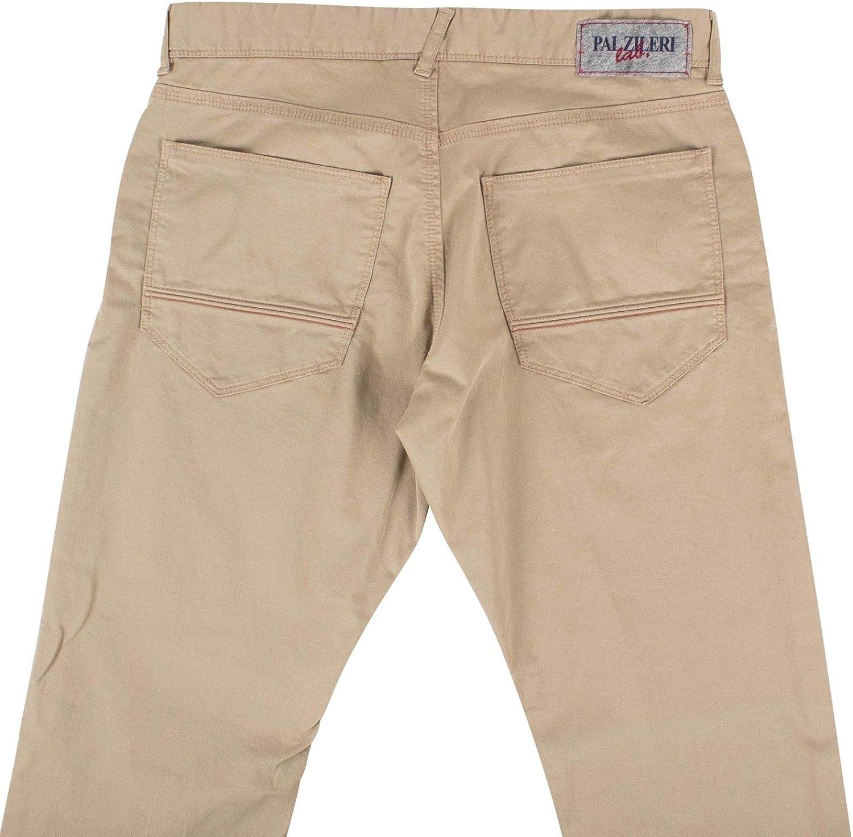 Pal Zileri Lab Mens Cotton Blend Pants 46//32 30 Beige