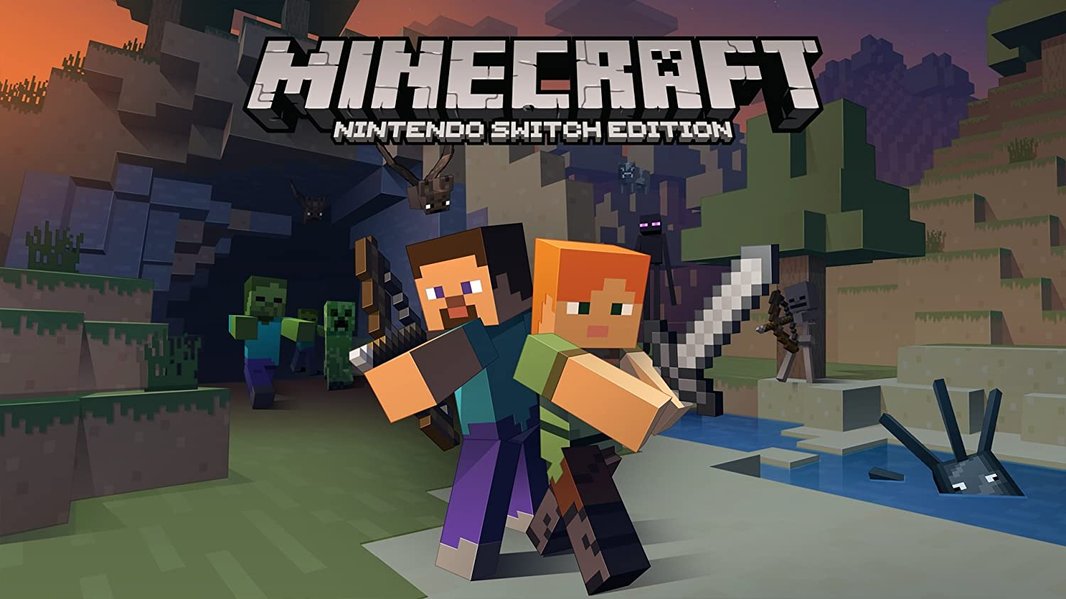 Amazoncom Minecraft Nintendo Switch Edition Nintendo Switch - Minecraft spielen download chip