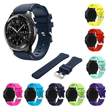 Tabcover® 8 Colors Gear S3 Frontier Classic Smart Watch ...