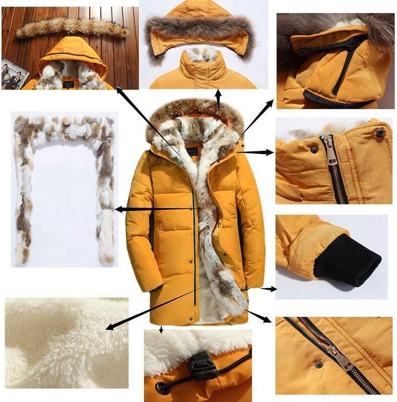 feeling dreamer 2019 White Duck Down Jacket Women Goose Feather Coat Long Raccoon Fur Parka Warm Rabbit Outerwear Winter Coats White 2