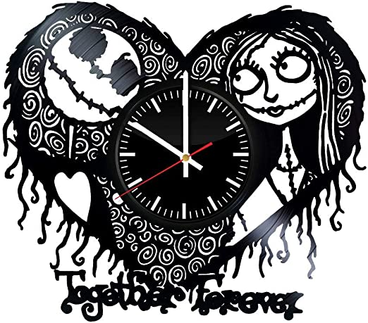 The Nightmare Before Christmas Love Story Wall Clock