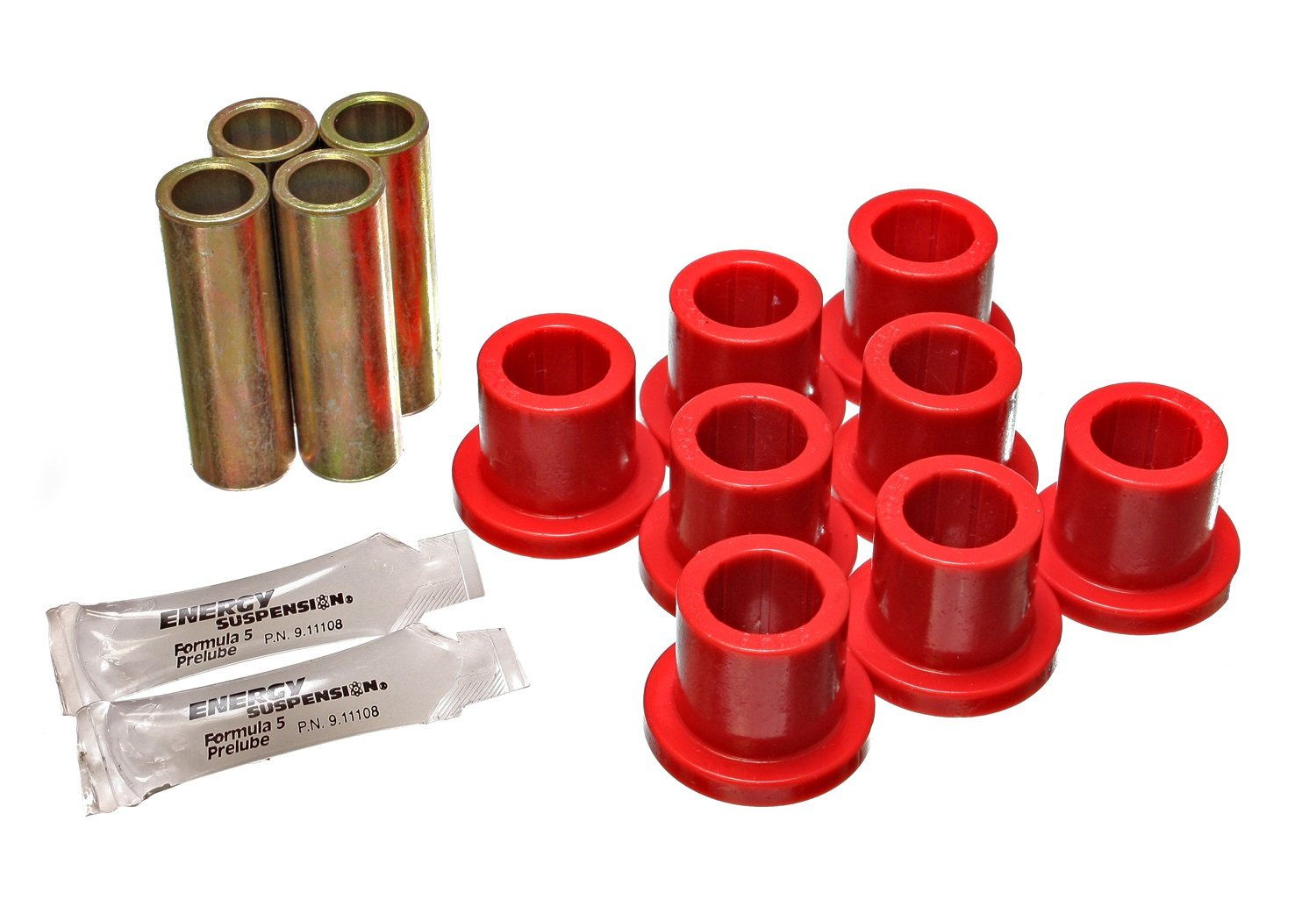 Energy Suspension 4.2107R Rear Spring Bushing for Ford Truck