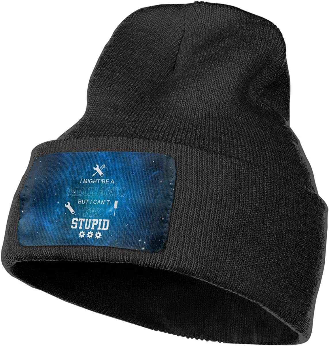 Helidoud I Might Be A Mechanic Winter Beanie Hat Knit Skull Cap for for Men /& Women