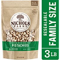 Nichols Farms Roasted Salted In-Shell Pistachios 3lb