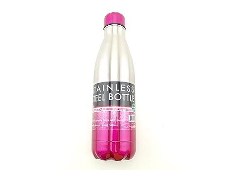 Amazon.com: gforce 25 onzas botella de agua de acero ...