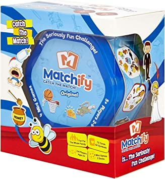 Pikykwiky Matchify Card Game Original The Seriously Fun Challenge For Families Kids And Friends Travel Party Card Game