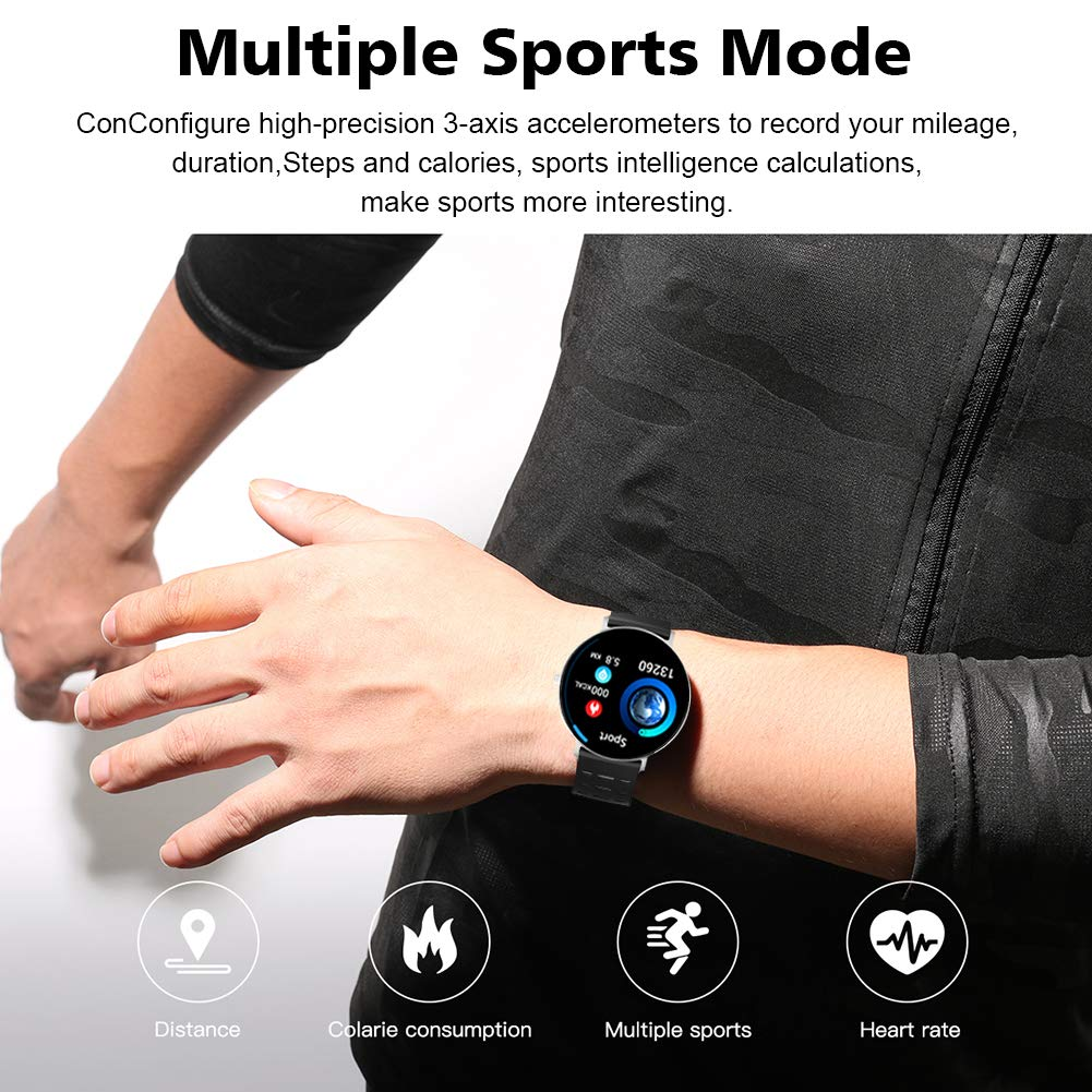 Amazon.com: Fitness Activity Tracker Sports Smart Watch with ...