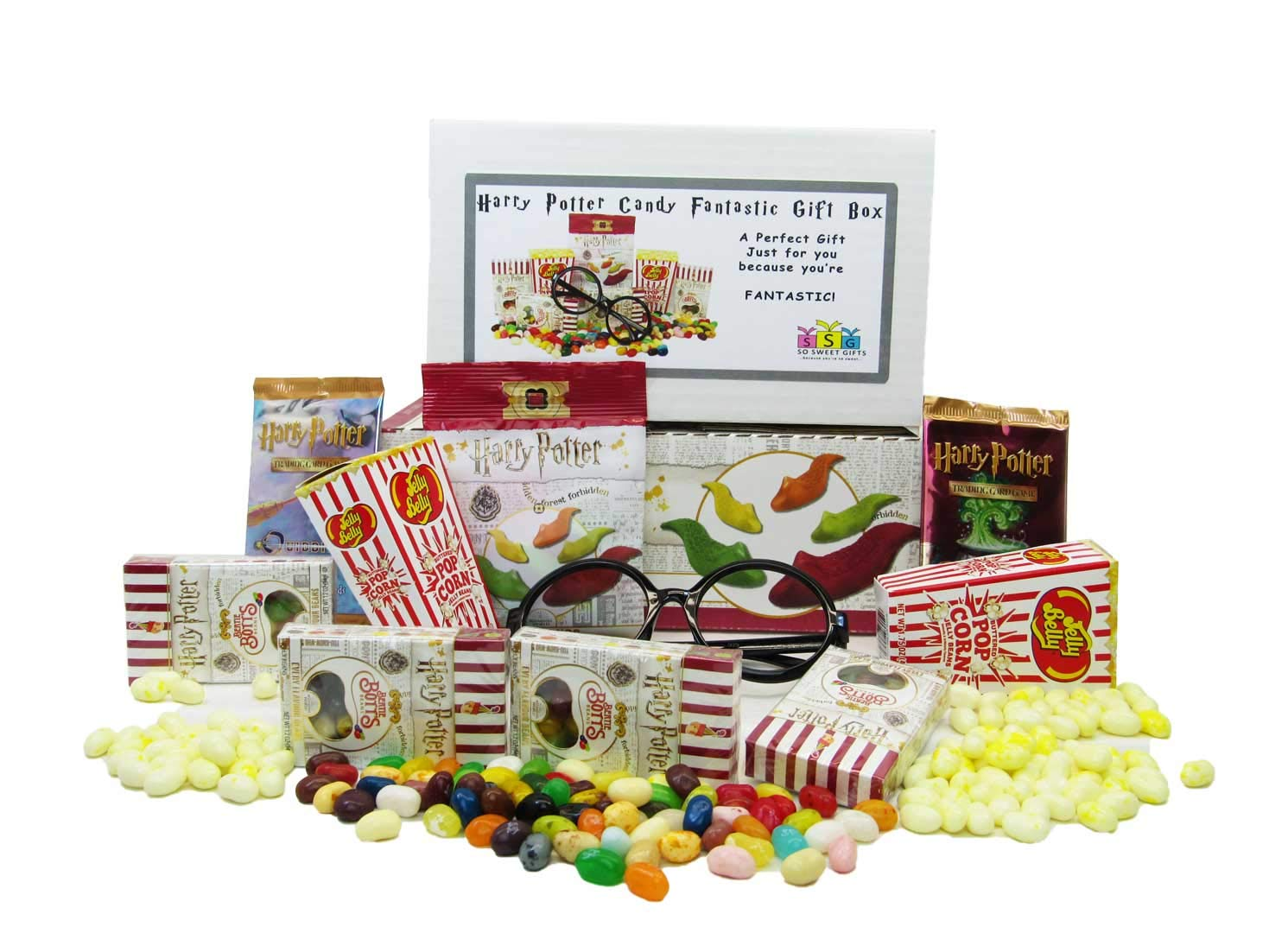 Harry Potter Candy Fantastic Gift Box by So Sweet Gifts