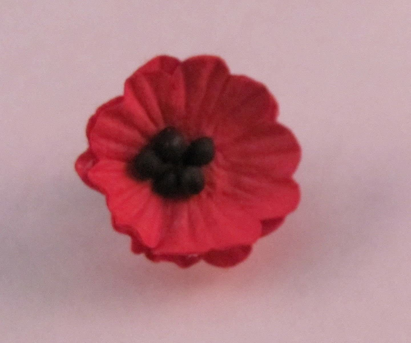 Amazon Designs By Dh Small Paper Red Poppy Lapel Pin Flower