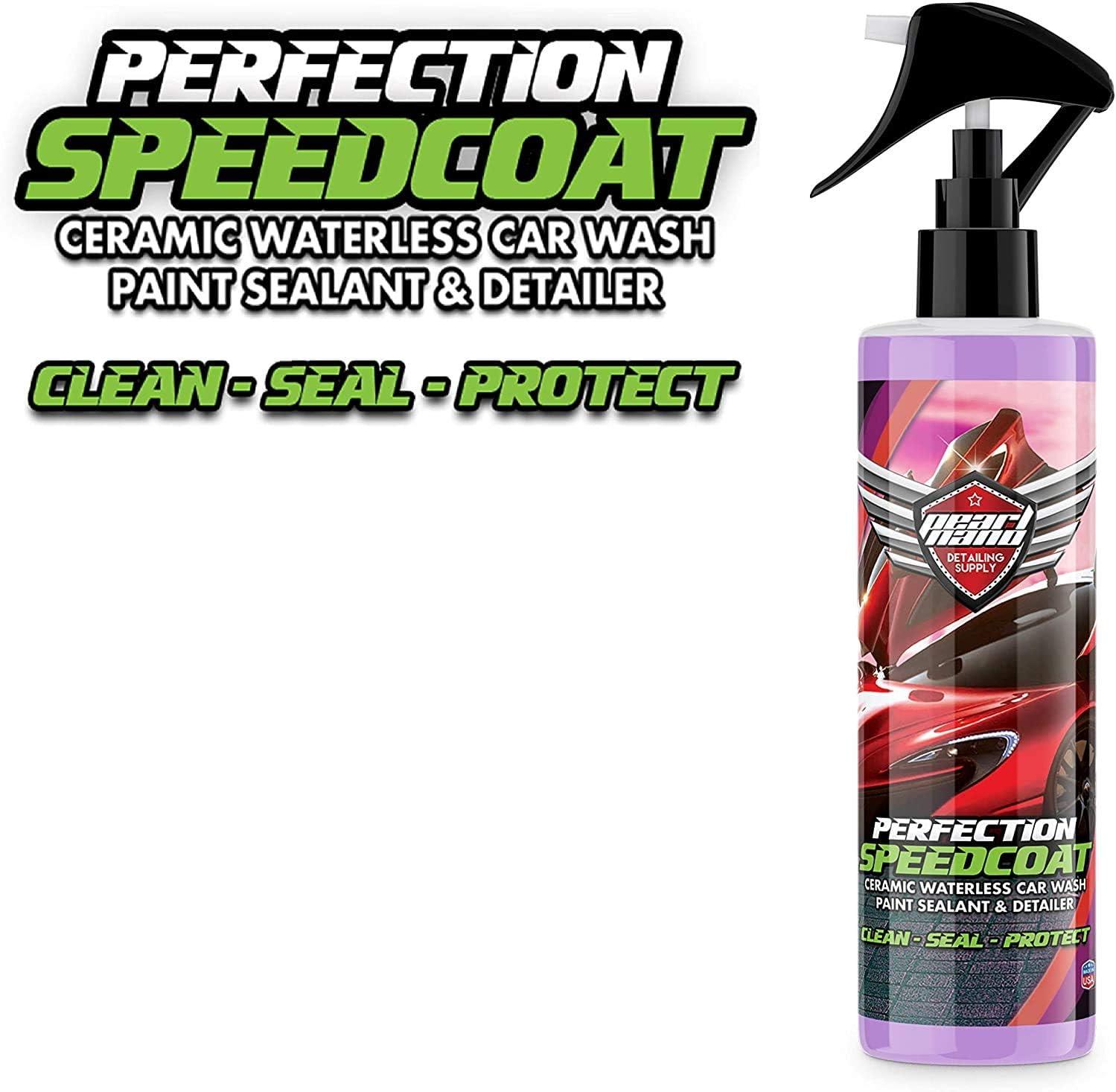 Pearl Nano Speedcoat - Revestimiento sin tinte añadido, 250 ml de increíble brillo, revestimiento de cerámico de protección contra el agua para lavar ...