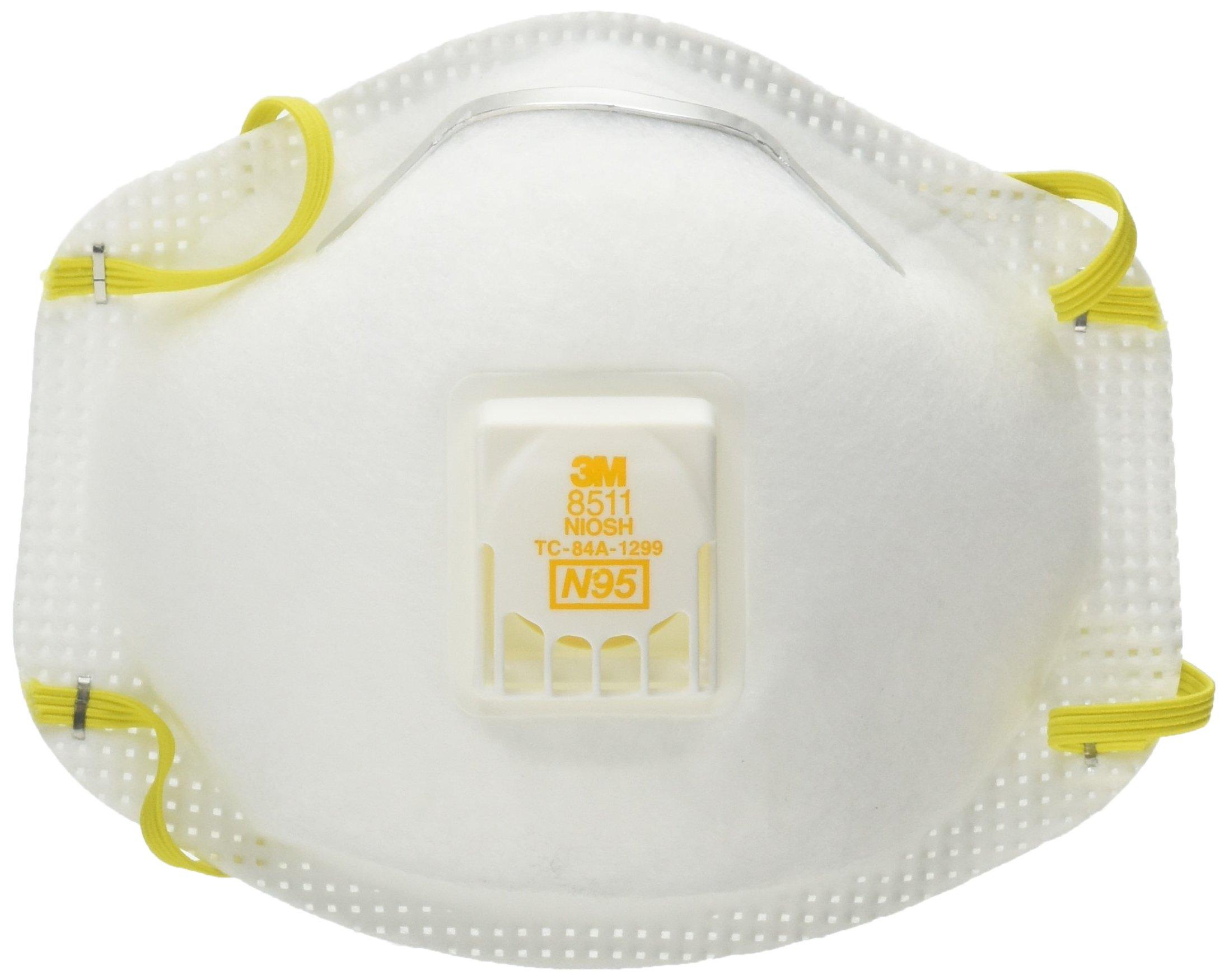 ESD8511 3MTM Particulate Respirator 8511(10 PER BOX)