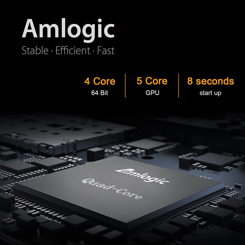 2018 Model GooBang Doo ABOX A1 max Android 7.1 TV Box, 2GB RAM 16GB ROM Bluetooth 4.0 Amlogic S905W Quad Core A53 Processor 64 Bits by GooBang Doo (Image #4)