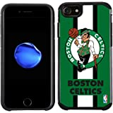 NBA Boston Celtics - Licensed Team Color Texture Case with Center Stripe Design for iPhone 8 / iPhone 7 / iPhone 6s / iPhone 6