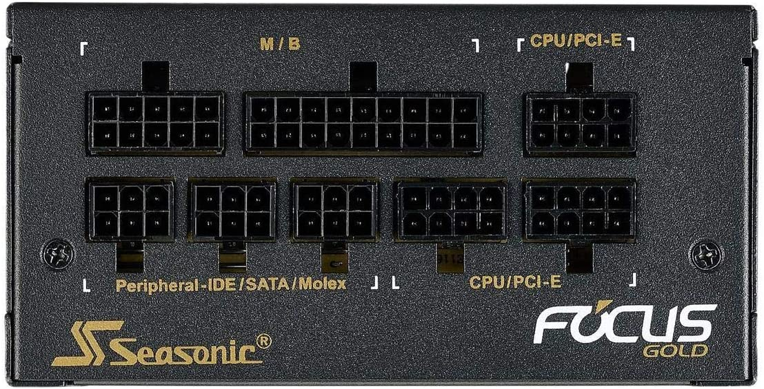 10 Year Warranty SSR-550FX. Full-Modular Fan Control in Fanless 550W 80+ Gold and Cooling Mode Seasonic Focus GX-550 Perfect Power Supply for Gaming and Various Application Silent