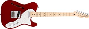 Fender Deluxe Telecaster Thinline Electric Guitar - Maple Fingerboard - Candy Apple Red
